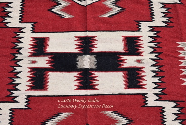 Hand Woven Wool Rugs Blessed With The Harmony And Peace Of Southwest